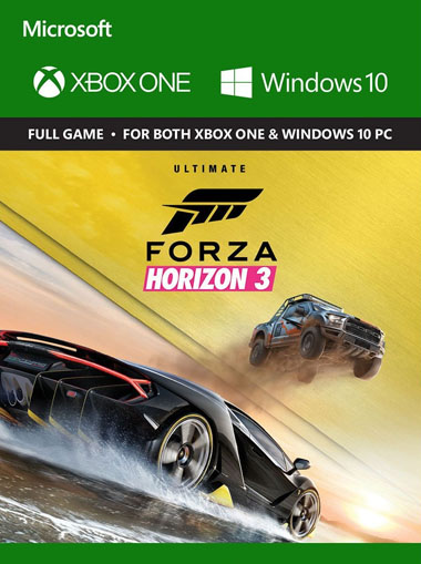 k b forza horizon 3 ultimate edition xbox one windows 10. Black Bedroom Furniture Sets. Home Design Ideas