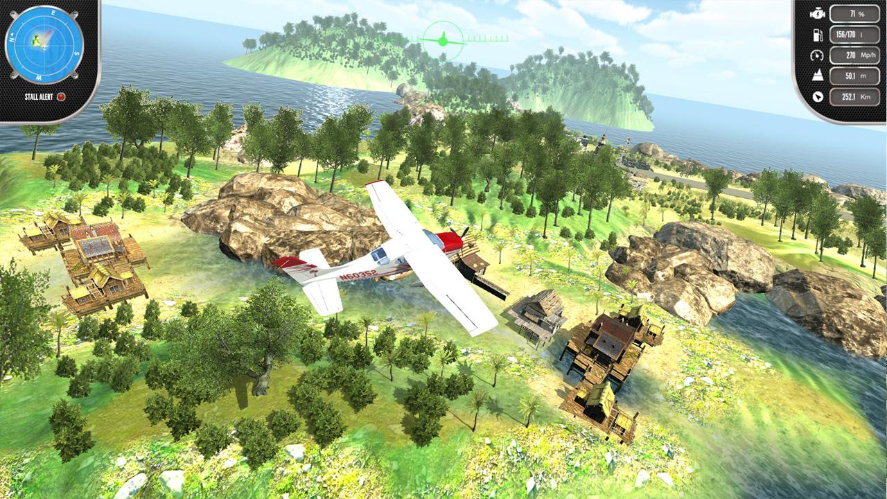 Køb Island Flight Simulator PC spil | Steam Download