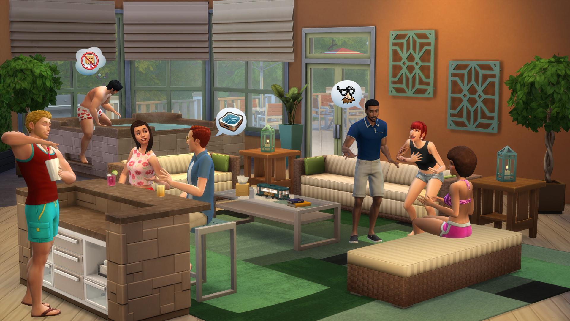 Фото мебели из игры sims 5
