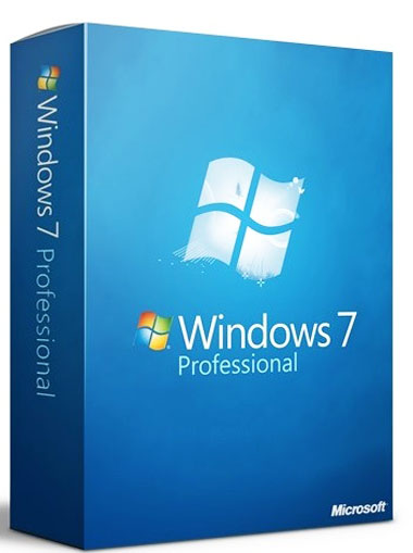 Køb Microsoft Windows 7 Professional 32/64 bit PC spil | Download